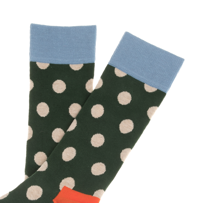 HAPPY SOCKS - Unisex Unisex κάλτσες HAPPY SOCKS πουά γυναικεία αξεσουάρ κάλτσες