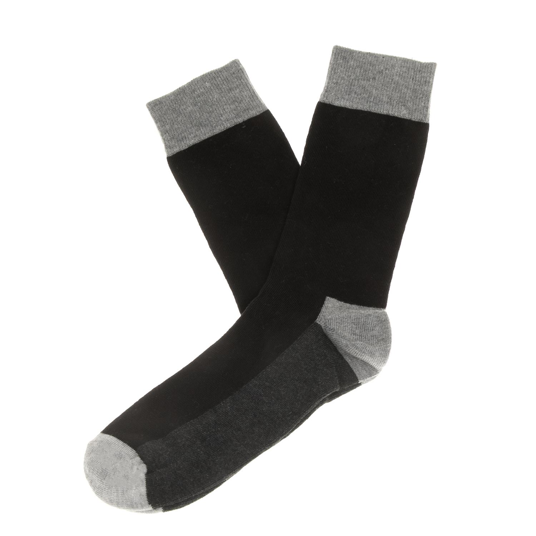 HAPPY SOCKS - Unisex κάλτσες HAPPY SOCKS μαύρες-γκρι γυναικεία αξεσουάρ κάλτσες