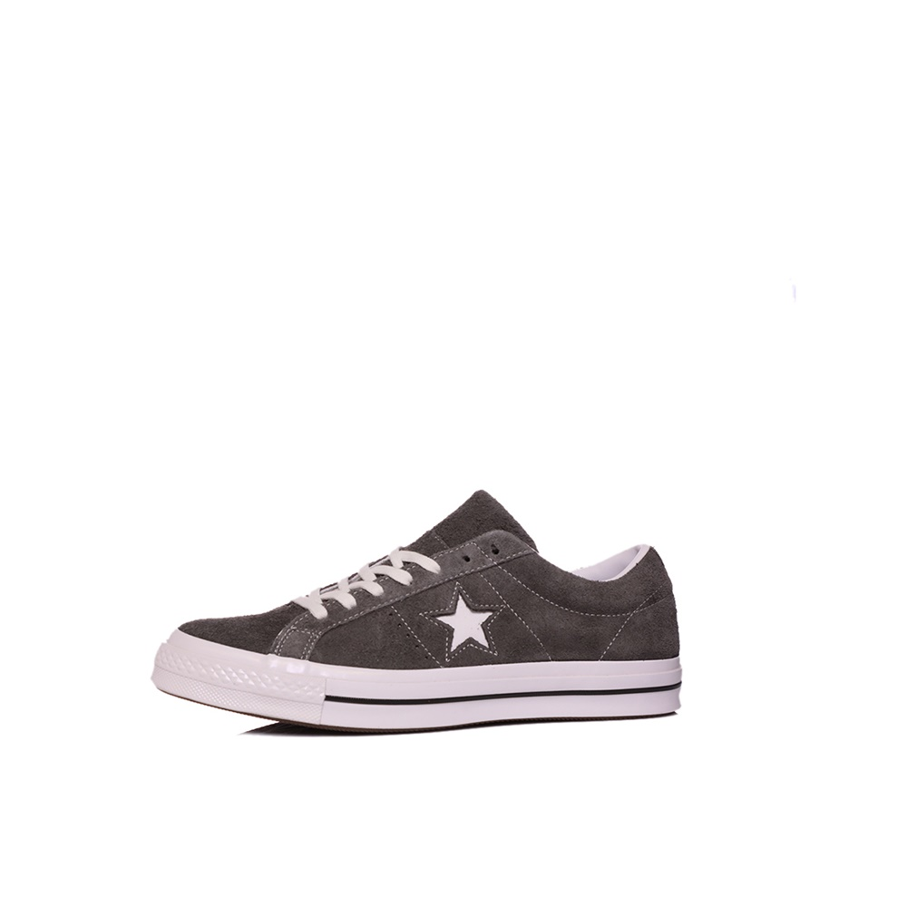 CONVERSE – Unisex sneakers CONVERSE ONE STAR ανθρακί
