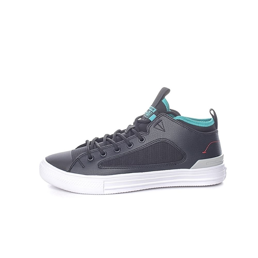 CONVERSE – Unisex sneakers CONVERSE Chuck Taylor AS Ultra Mid μαύρα