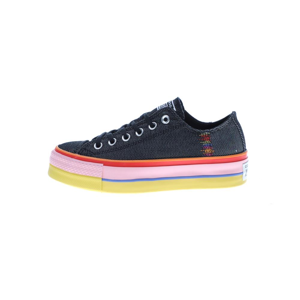 CONVERSE – Γυναικεία sneakers CONVERSE CHUCK TAYLOR ALL STAR LIFT μπλε