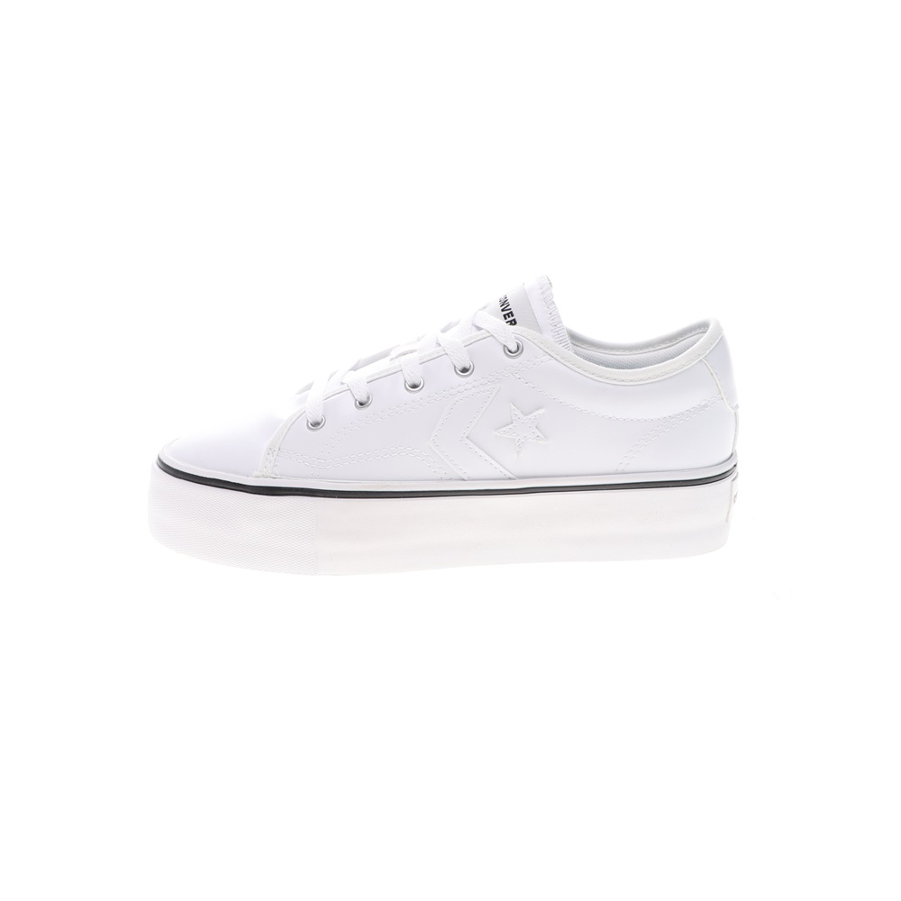 CONVERSE – Γυναικεία sneakers CONVERSE STAR REPLAY PLATFORM λευκά