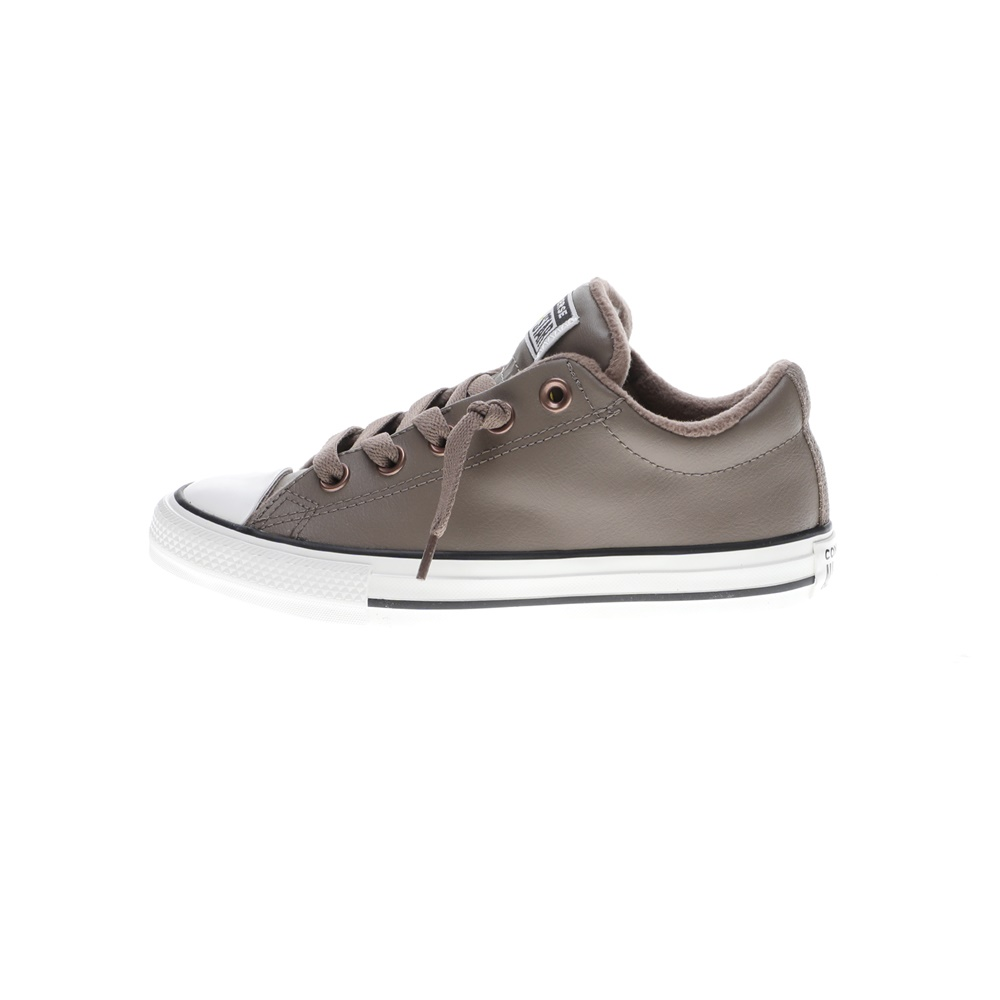 CONVERSE – Παιδικά sneakers CONVERSE CHUCK TAYLOR ALL STAR STREET γκρι