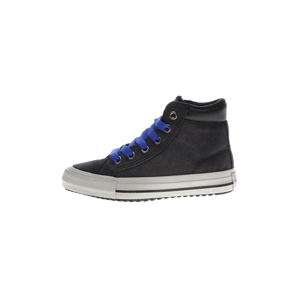 CONVERSE – Παιδικά ψηλά sneakers CONVERSE CHUCK TAYLOR ALL STAR γκρι μπλε