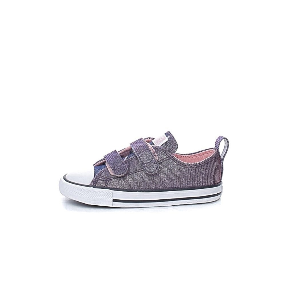CONVERSE – Βρεφικά sneakers CONVERSE Chuck Taylor All Star 2V ροζ μπλε