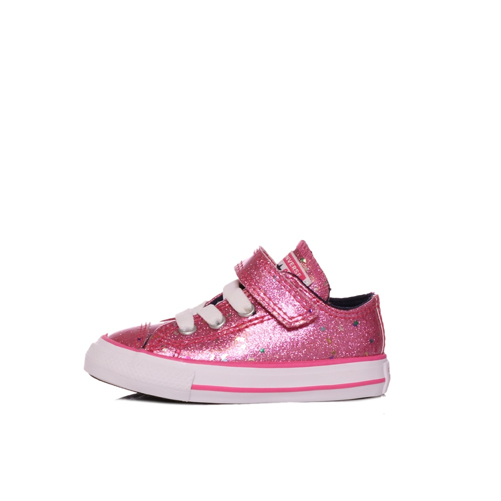 CONVERSE – Βρεφικά sneakers CONVERSE CHUCK TAYLOR ALL STAR 1V ροζ