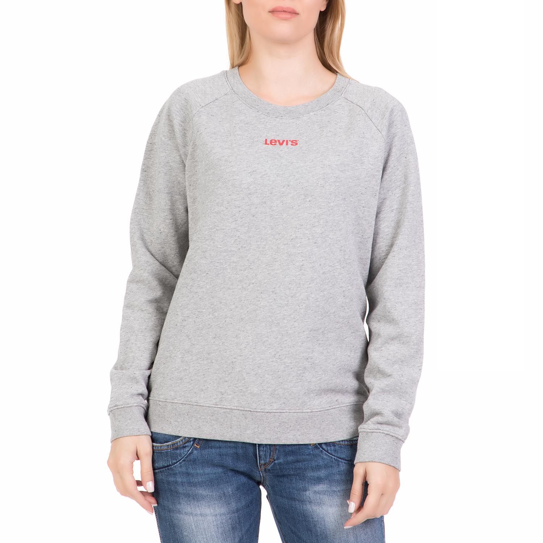 b94b2c8b8e1b LEVI S - Γυναικεία φούτερ μπλούζα LEVI S RELAXED GRAPHIC γκρι ...