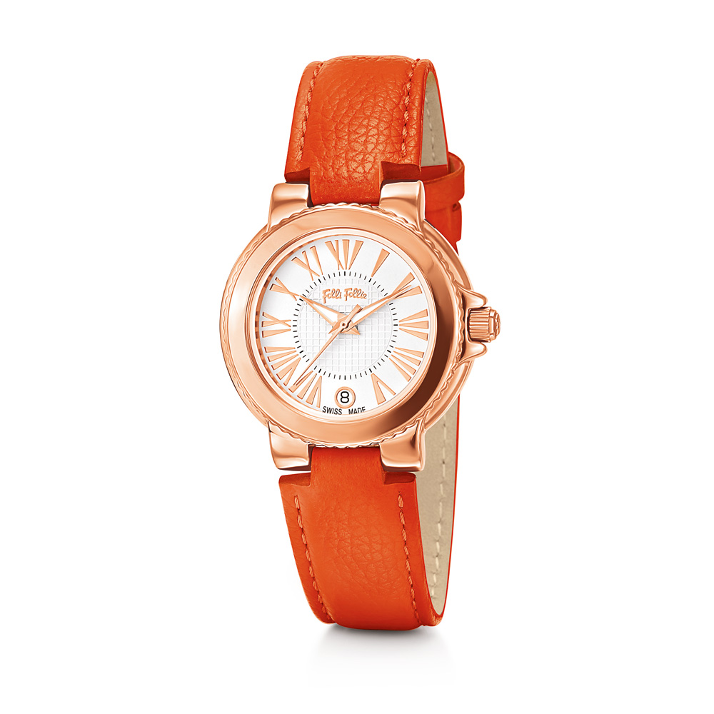 491a742275 FOLLI FOLLIE - Γυναικείο ρολόι Folli Follie πορτοκαλί ⋆ pressmedoll.gr