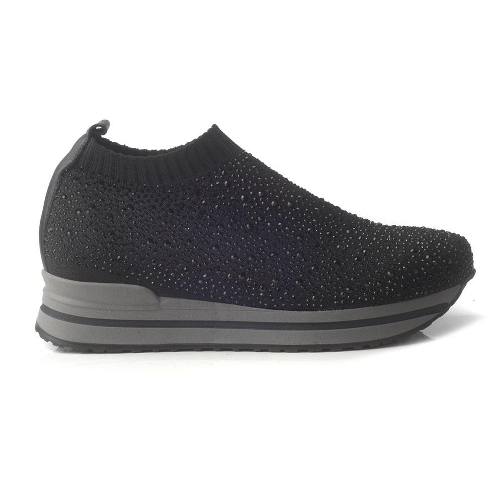 CHANIOTAKIS – Γυναικεία sneakers CHANIOTAKIS DIAMOND μαύρα 78d54cb8dea