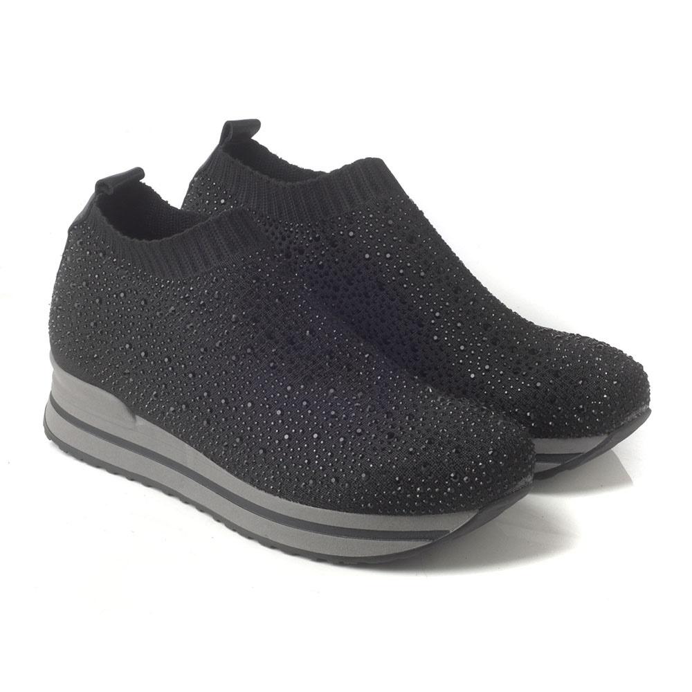 c55b2d06db CHANIOTAKIS - Γυναικεία sneakers CHANIOTAKIS DIAMOND μαύρα ...
