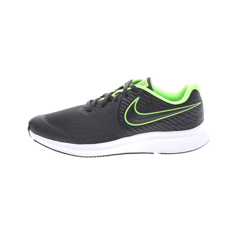 NIKE – Παιδικά παπούτσια running NIKE STAR RUNNER 2 (GS) AQ3542 ανθρακί πράσινα