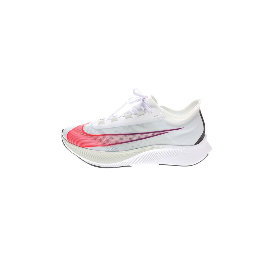 NIKE – Ανδρικά παπούτσια running NIKE ZOOM FLY 3 λευκά πορτοκαλί