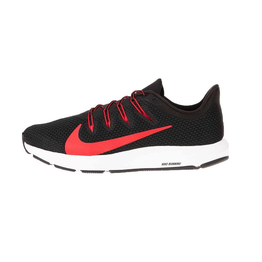 NIKE – Ανδρικά αθλητικά παπούτσια running NIKE QUEST 2 μαύρα κόκκινα