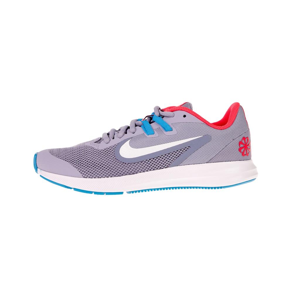 NIKE – Παιδικά αθλητικά παπούτσια NIKE DOWNSHIFTER 9 DISRUPT GS μωβ μπλε
