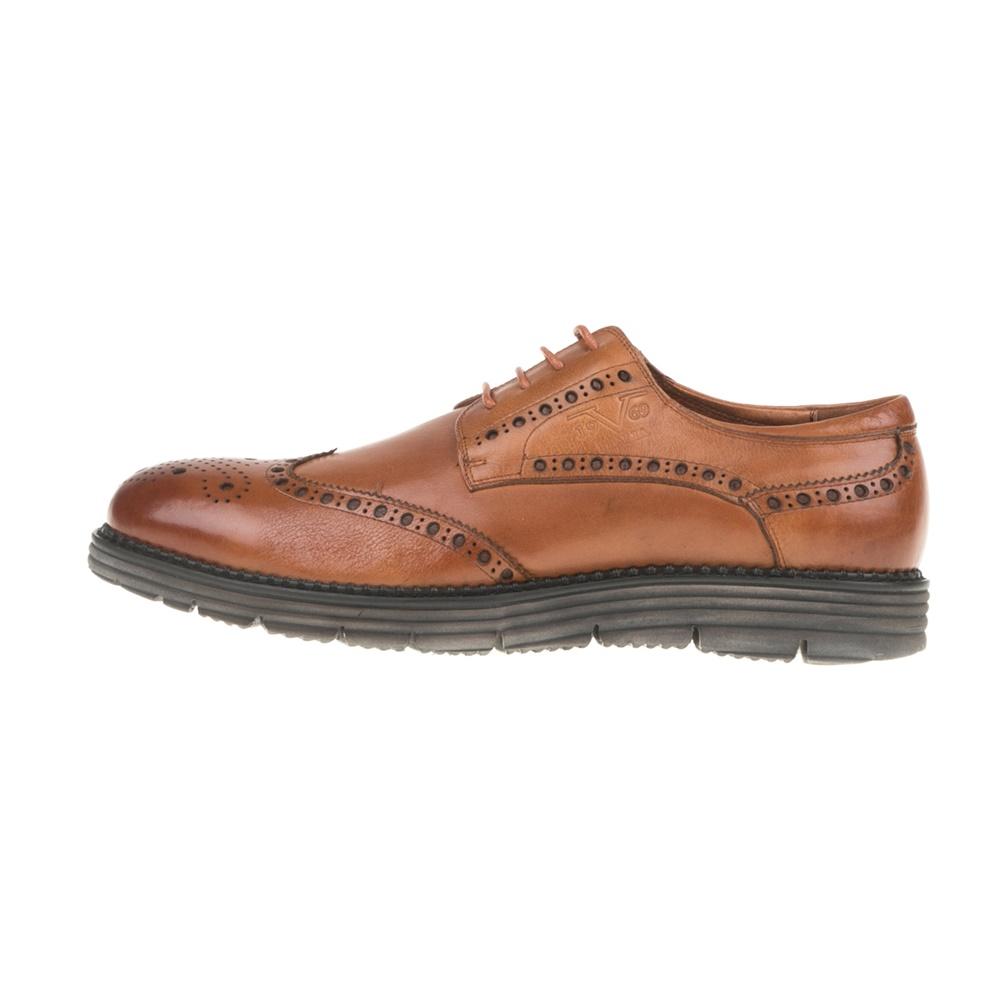 19V69 VERSACE 19.69 - Ανδρικά δετά παπούτσια BROGUE 19V69 VERSACE 19.69 καφέ ανδρικά παπούτσια δετά επίσημα