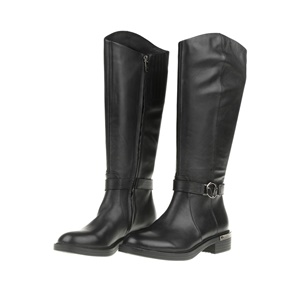 19V69 VERSACE 19.69. Γυναικείες φλατ μπότες ... b61978de66e