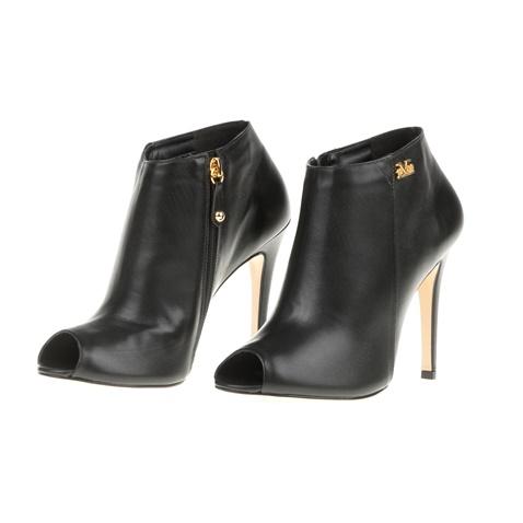 Γυναικεία ψηλοτάκουνα peep toe μποτάκια 19V69 VERSACE 19.69 μαύρα ... d148557ed84