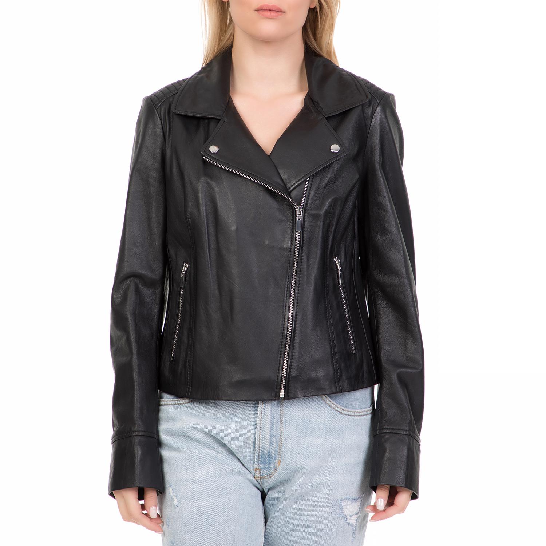 ARMA MAYS   ROSE – Γυναικείο δερμάτινο μπουφάν GOMERA Sheep Denvey μαύρο. Factory  Outlet 43b991ce34e