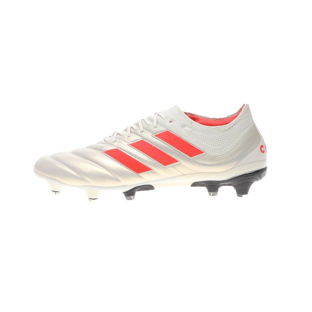 adidas Performance – Ανδρικά ποδοσφαιρικά παπούτσια adidas Performance COPA 19.1 FG λευκά κόκκινα