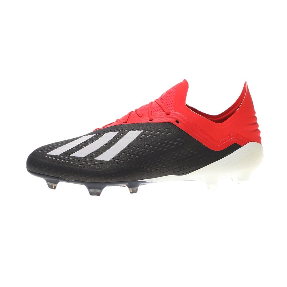 adidas Performance – Ανδρικά ποδοσφαιρικά παπούτσια adidas Performance X 18.1 FG μαύρα κόκκινα