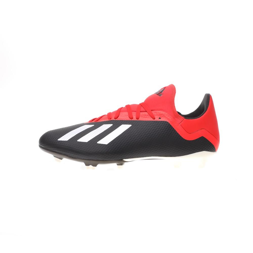 adidas Performance – Ανδρικά ποδοσφαιρικά παπούτσια adidas Performance X 18.3 FG κόκκινα μαύρα