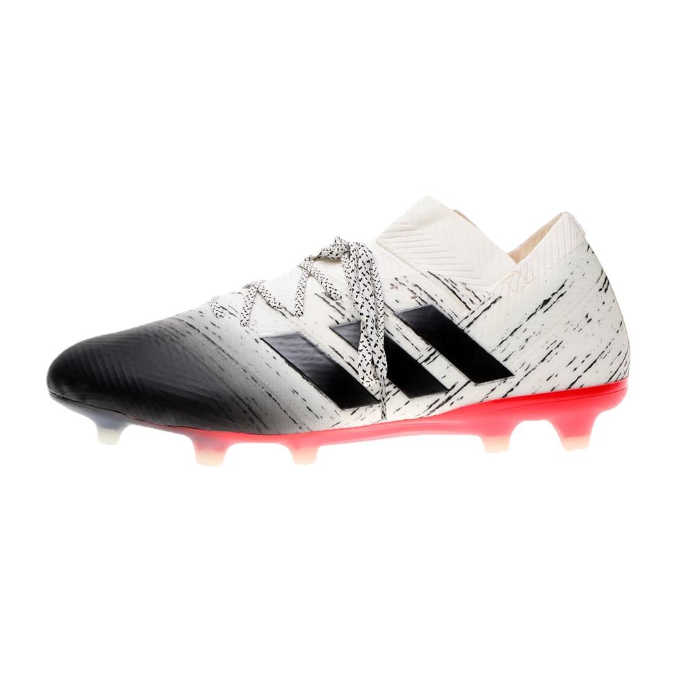 adidas Performance – Ανδρικά ποδοσφαιρικά παπούτσια adidas Performance NEMEZIZ 18.1 FG ασπρόμαυρα