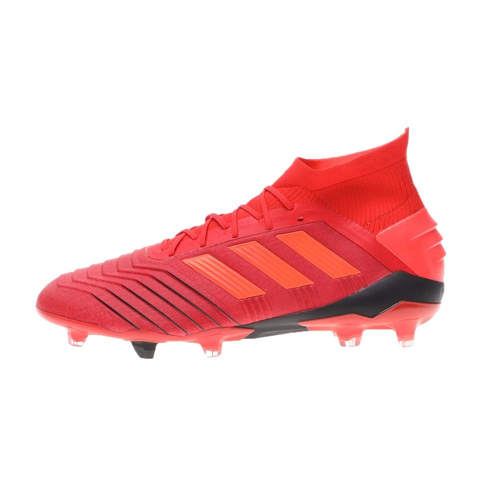 adidas Performance – Ανδρικά ποδοσφαιρικά παπουτσια adidas Performance PREDATOR 19.1 FG κόκκινα