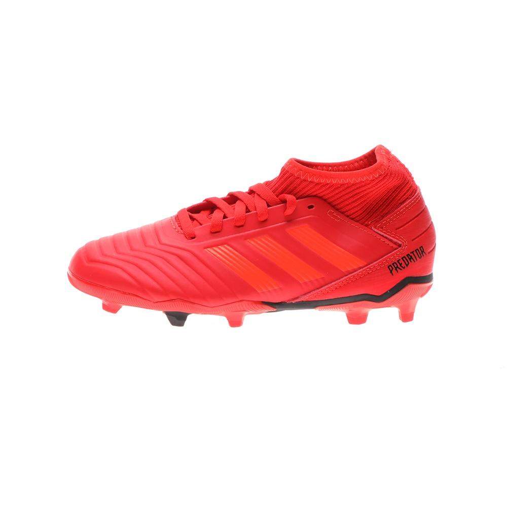 adidas Originals – Παιδικά ποδοσφαιρικά παπούτσια PREDATOR 19.3 FG J κόκκινα
