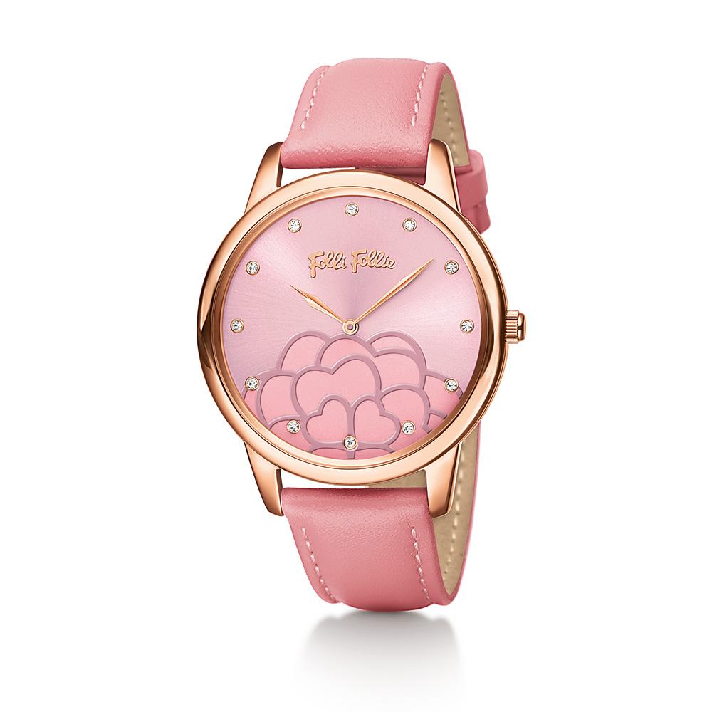 e95e8ec5c5 FOLLI FOLLIE - Γυναικείο ρολόι Folli Follie ροζ