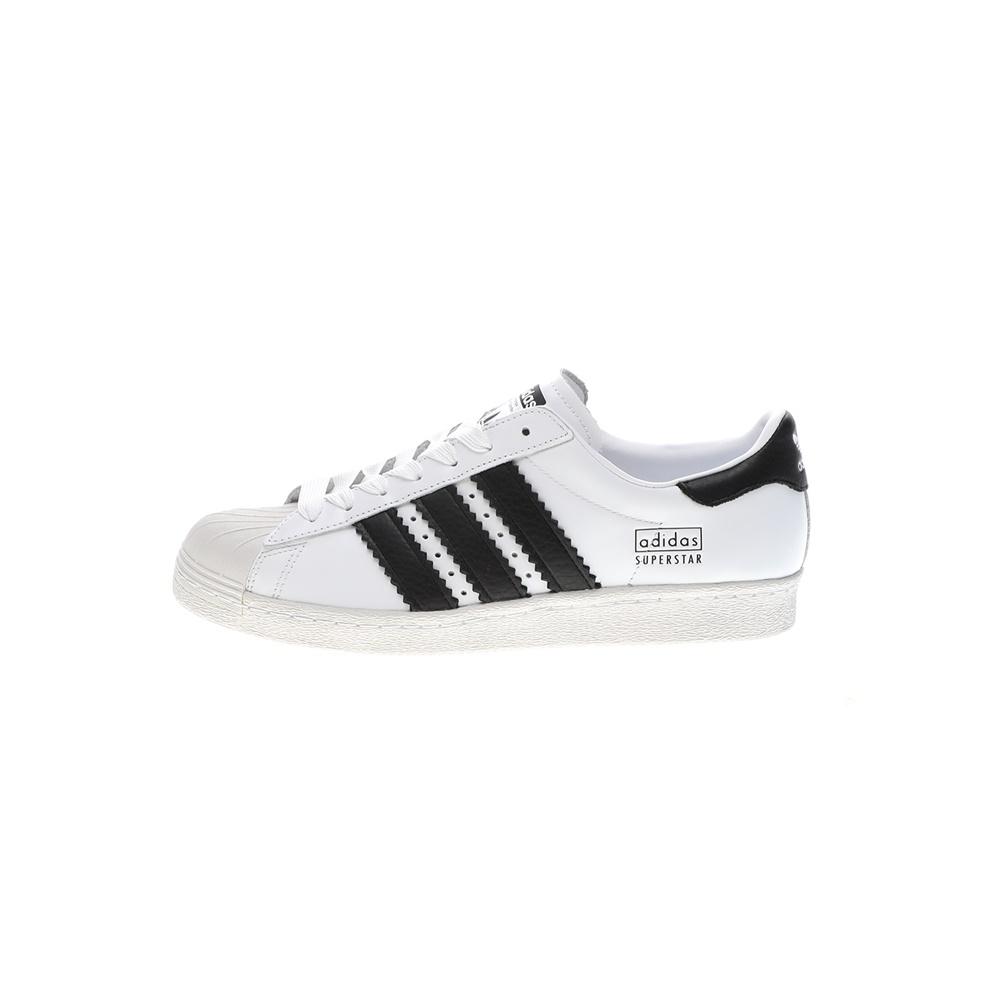 adidas Originals – Ανδρικά sneakers ADIDAS SUPERSTAR 80s ασπρόμαυρα