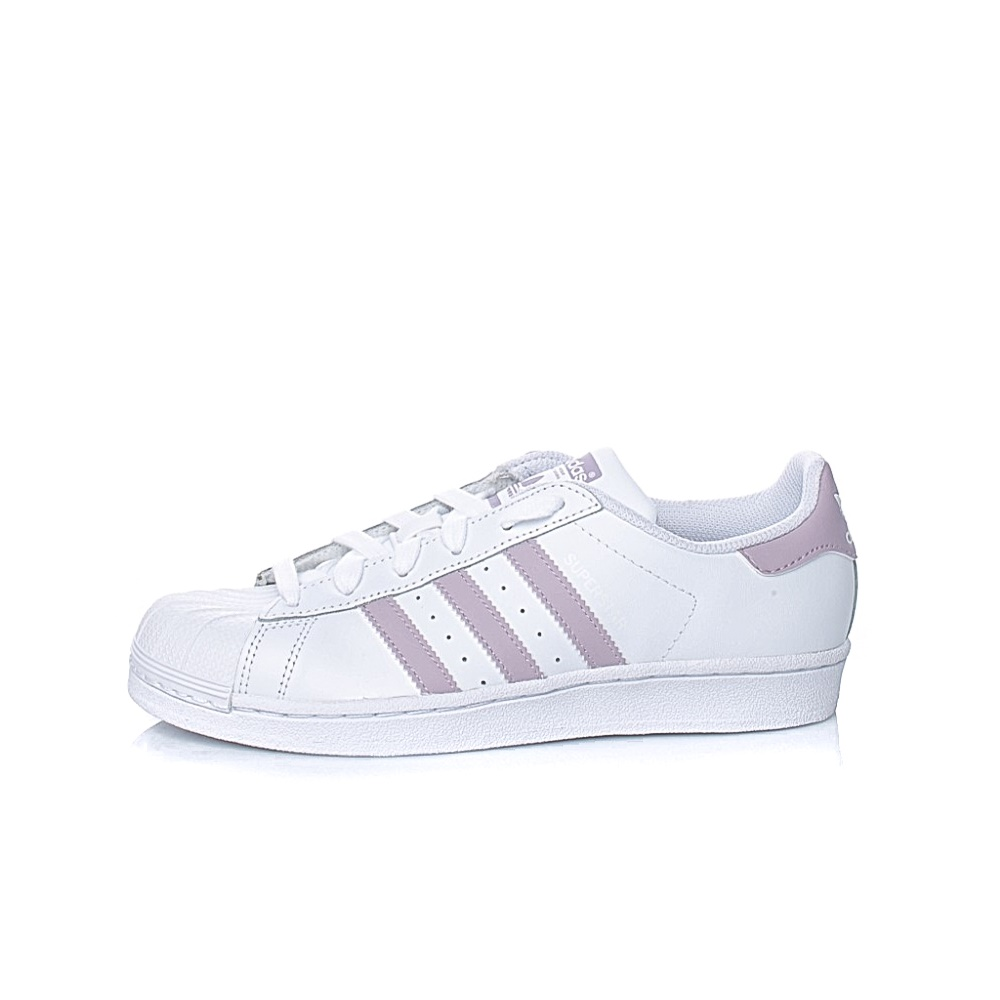 adidas Originals – Γυναικεία sneakers adidas Originals SUPERSTAR λευκά – ροζ