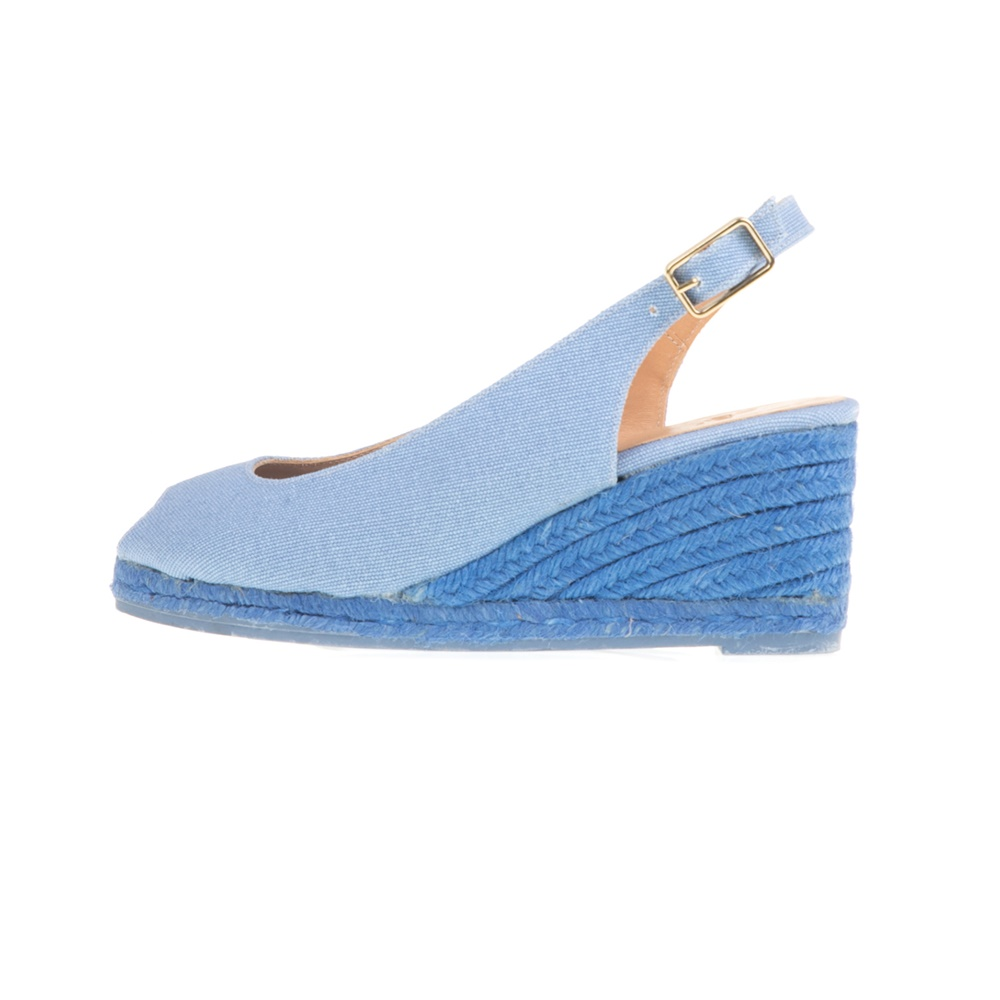 CASTANER - Γυναικείες peep-toe πλατφόρμες CASTANER BELI μπλε γυναικεία παπούτσια πλατφόρμες