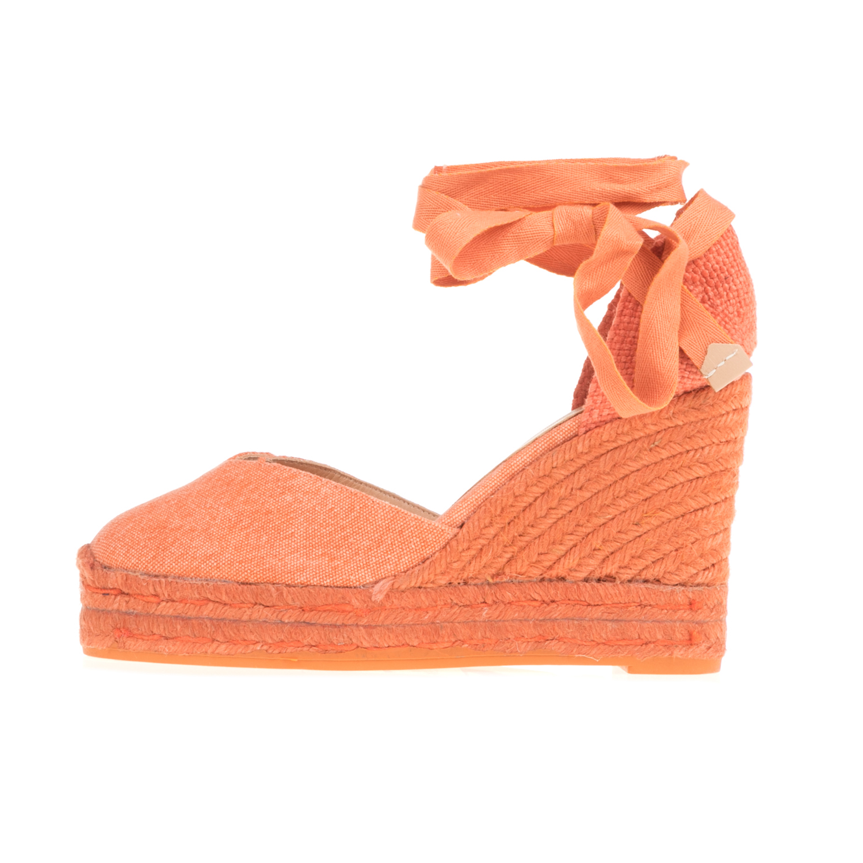 CASTANER – Γυναικείες πλατφόρμες CASTANER CHIARA πορτοκαλί