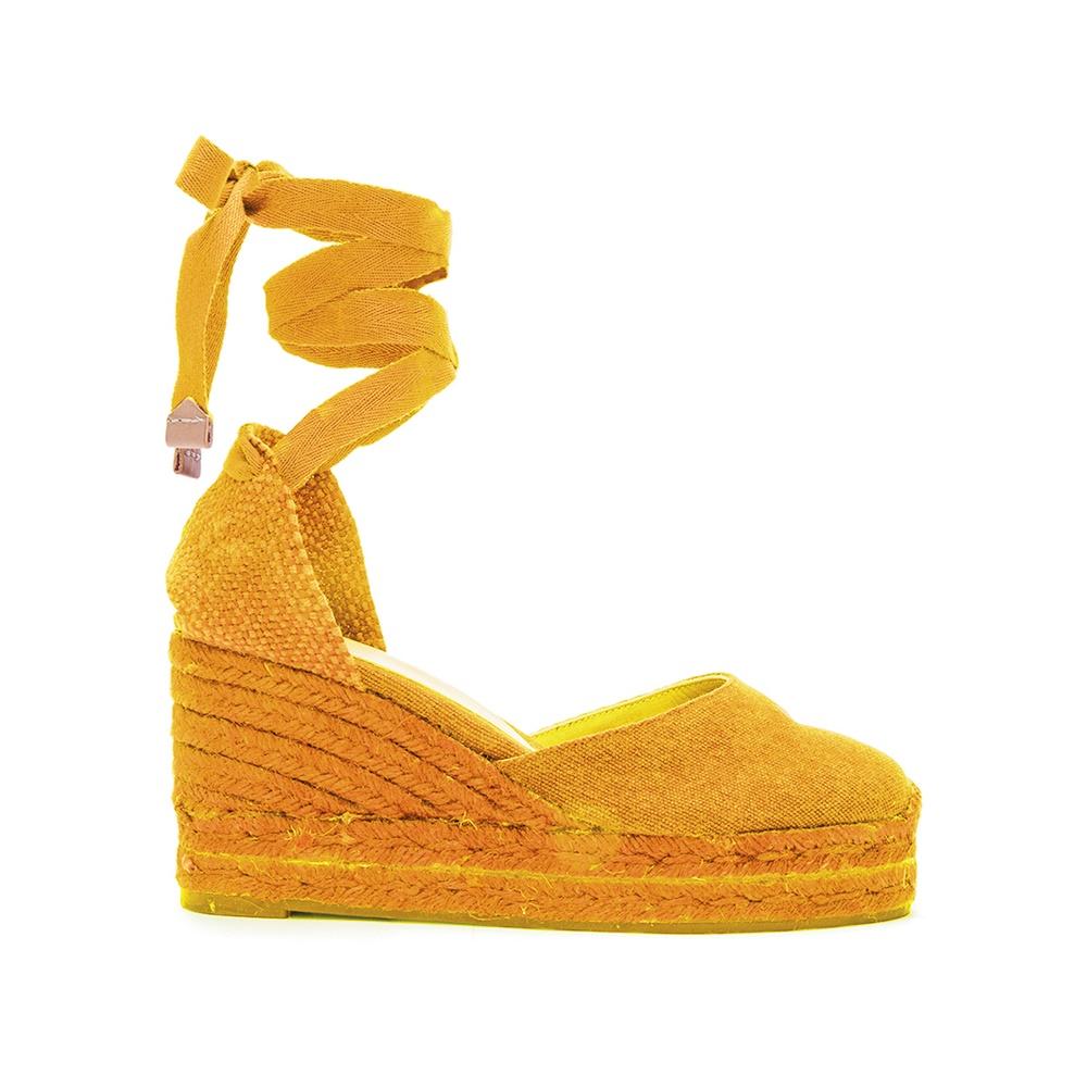 CASTANER – Γυναικείες πλατφόρμες CASTANER CARINA πορτοκαλί