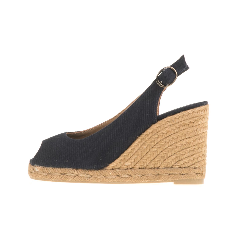 CASTANER - Γυναικείες peep-toe πλατφόρμες CASTANER BE 13 μπλε γυναικεία παπούτσια πλατφόρμες