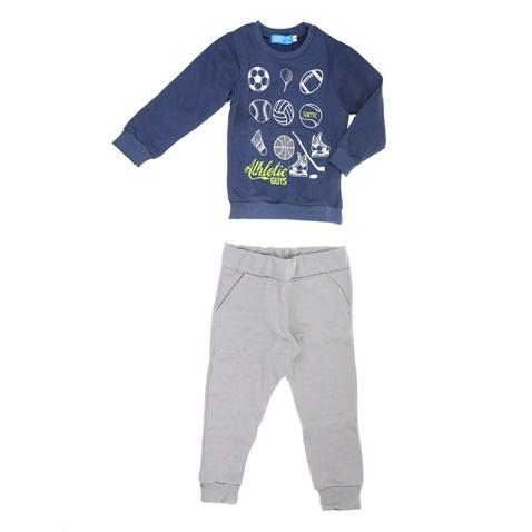 6915fecff5d Παιδικό σετ φόρμας για μικρά αγόρια ATHLETIC SAM 0-13 μπλε-γκρι  (1728347.0-1z88) | Factory Outlet