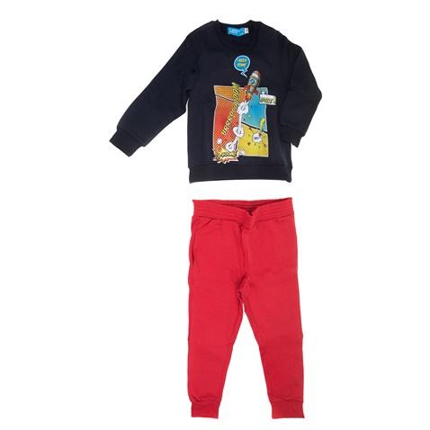 4878ce8786d Παιδικό σετ φόρμας για μικρά αγόρια SAM 0-13 μπλε-κόκκινο (1728350.0-1441)  | Factory Outlet
