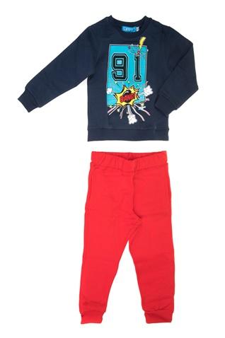 945338a1d6d Παιδικό σετ φόρμας για μικρά αγόρια SAM 0-13 μπλε-κόκκινο (1728351.0-1341)  | Factory Outlet