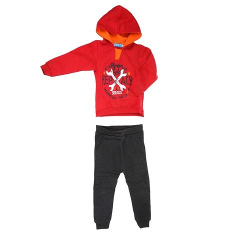 8aaddebd431 Παιδικό σετ φόρμας για μικρά αγόρια REPAIR SAM 0-13 κόκκινο-γκρι  (1728353.0-4188) | Factory Outlet