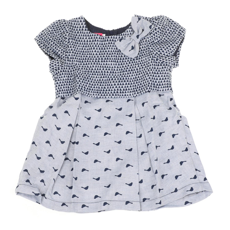 3f905b36983 SAM 0-13 - Παιδικό κοντομάνικο φόρεμα για μικρά κορίτσια SAM 0-13 γκρι