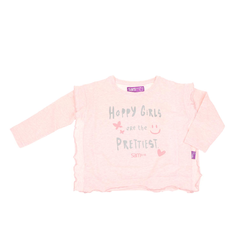 8b2f56d7c86 -65% SAM 0-13 – Παιδική μακρυμάνικη μπλούζα για μικρά κορίτσια SAM 0-13 ροζ