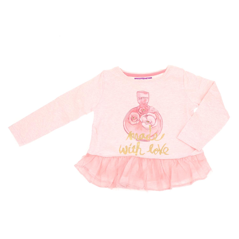 8c7e1738e5b5 SAM 0-13 – Παιδική μακρυμάνικη μπλούζα για μικρά κορίτσια SAM 0-13 ροζ