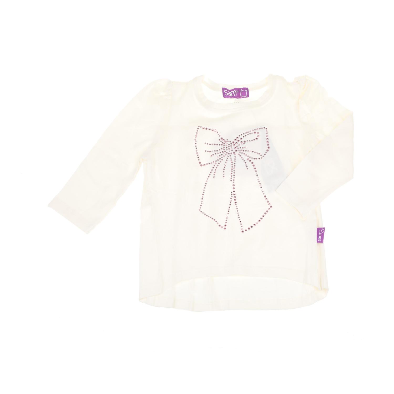 9b44e950709 -44% SAM 0-13 – Παιδική μακρυμάνικη μπλούζα με στρας για μικρά κορίτσια SAM  0-