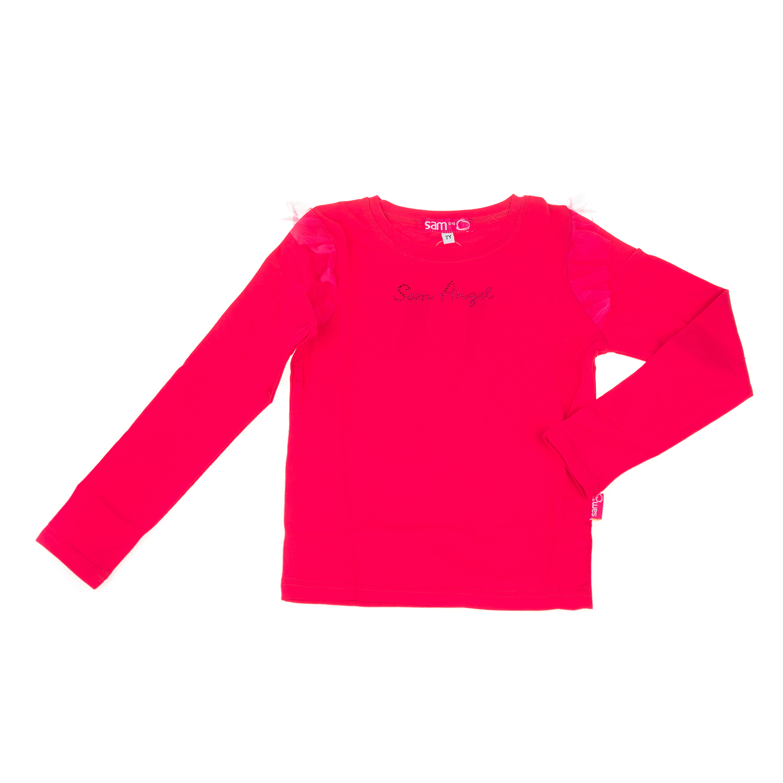 SAM 0-13 - Κοριτσίστικη μακρυμάνικη μπλούζα SAM 0-13 φούξια e59835ab29b