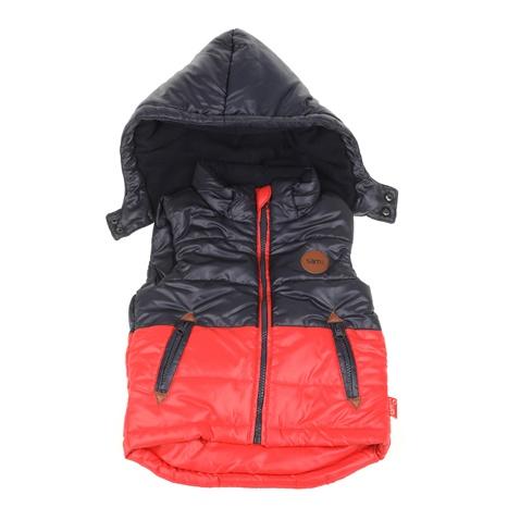 Παιδικό αμάνικο μπουφάν για μικρά αγόρια SAM 0-13 μπλε-πορτοκαλί  (1728440.0-14o3)  52fc8a5869a