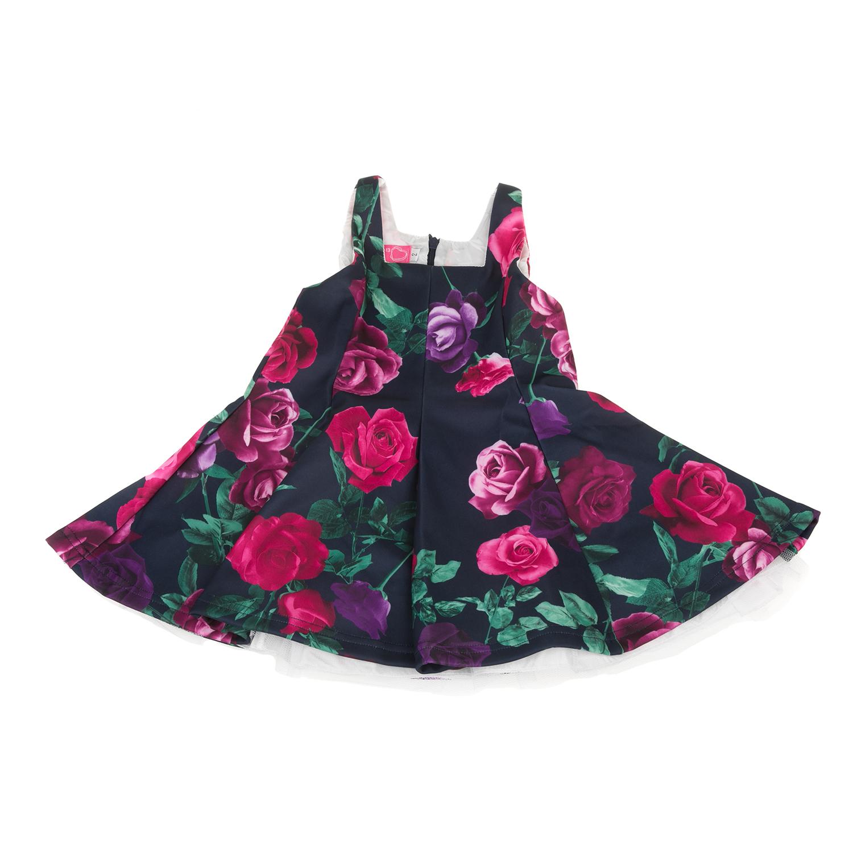 Factoryoutlet SAM 0-13 - Παιδικό αμάνικο φόρεμα με λουλούδια SAM 0-13 μαύρο 55ff4e6f0c5
