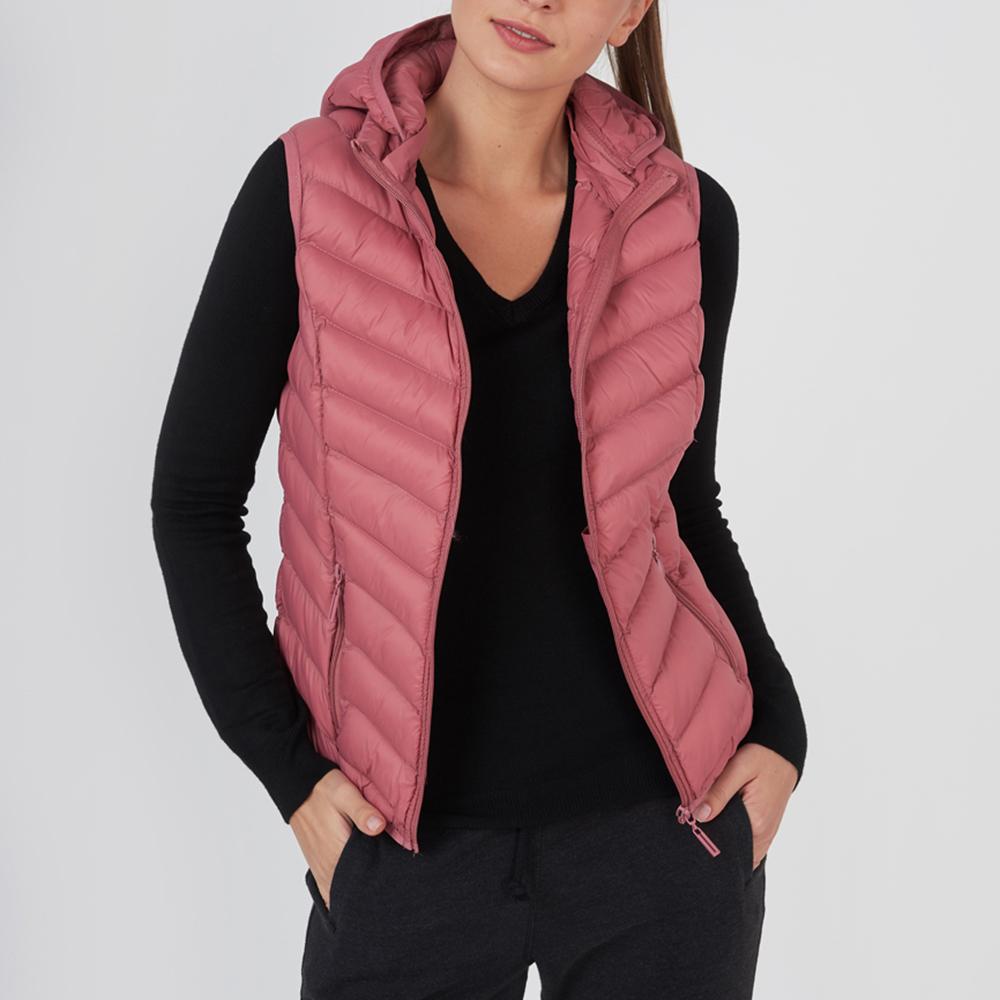 FUNKY BUDDHA – Γυναικείο αμάνικο μπουφάν FUNKY BUDDHA ροζ – Online Ρούχα 6d7bbaaa571