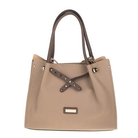 Γυναικεία τσάντα ώμου PIERRE CARDIN μπεζ (1728676.0-g500)  63bac888dbf