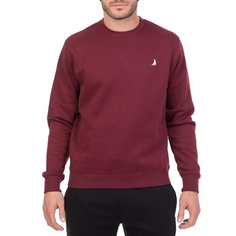 270619b9f05e Ανδρική φούτερ μπλούζα CATAMARAN SAILWEAR μπορντό (1728705.0-0116 ...