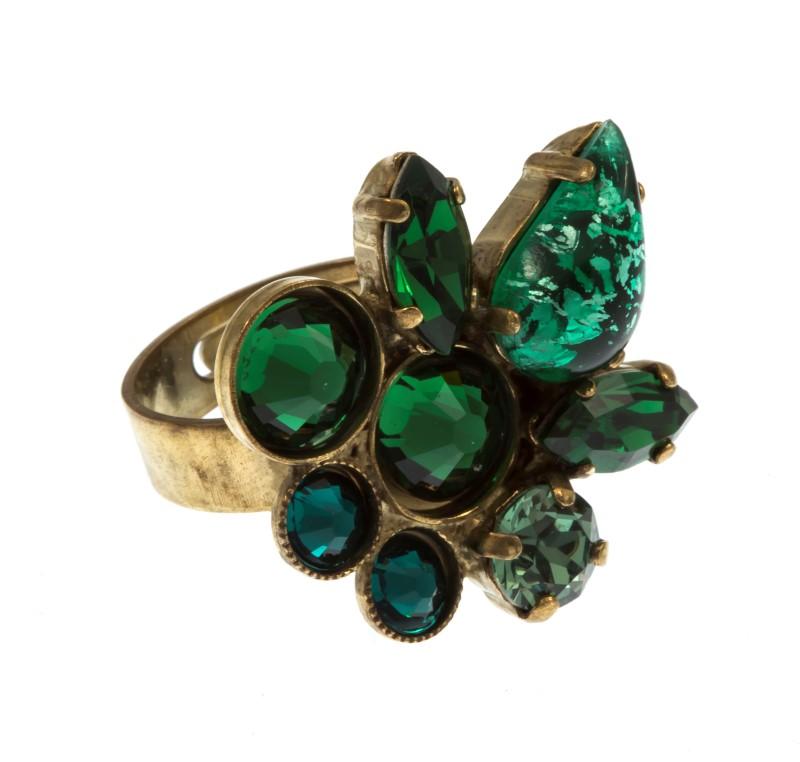 ARTWEAR DIMITRIADIS - Γυναικείο μεταλλικό μπρονζέ δαχτυλίδι ARTWEAR DIMITRIADIS  γυναικεία αξεσουάρ κοσμήματα δαχτυλίδια